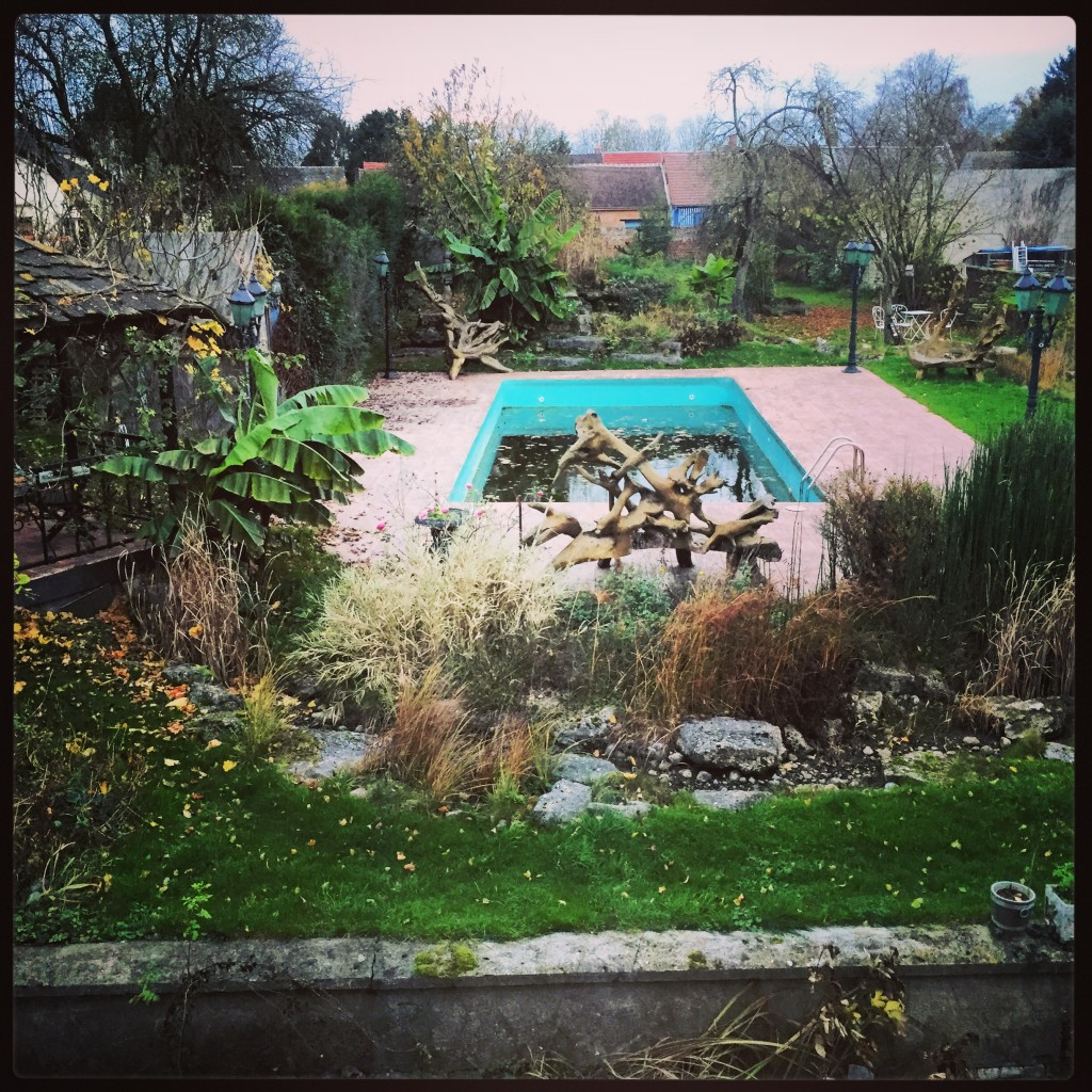 Le jardin en hiver, le temps d'un rêve, Ravenel