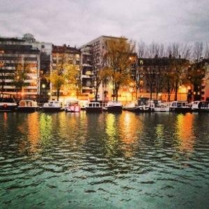 Le canal de l'Ourcq et le bassin de la Villette