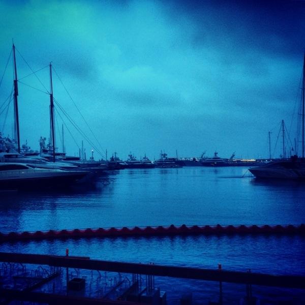 L'heure bleue à Monaco