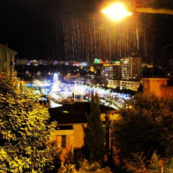 Il pleut à Monaco