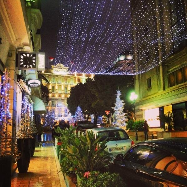 Monaco en décembre