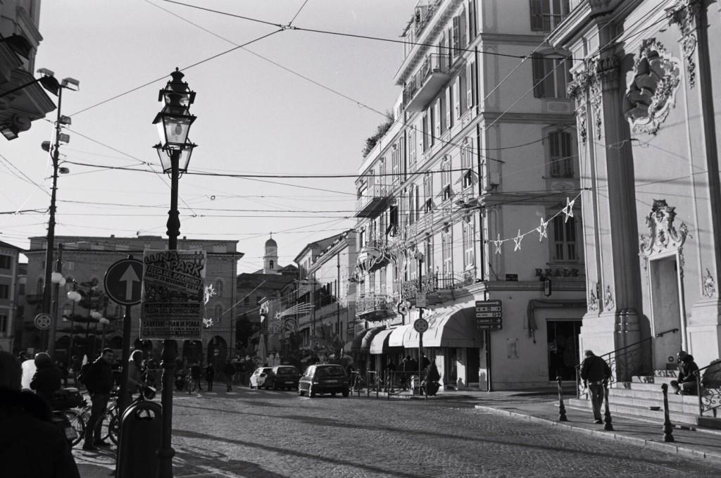 Le centre ville de San Remo