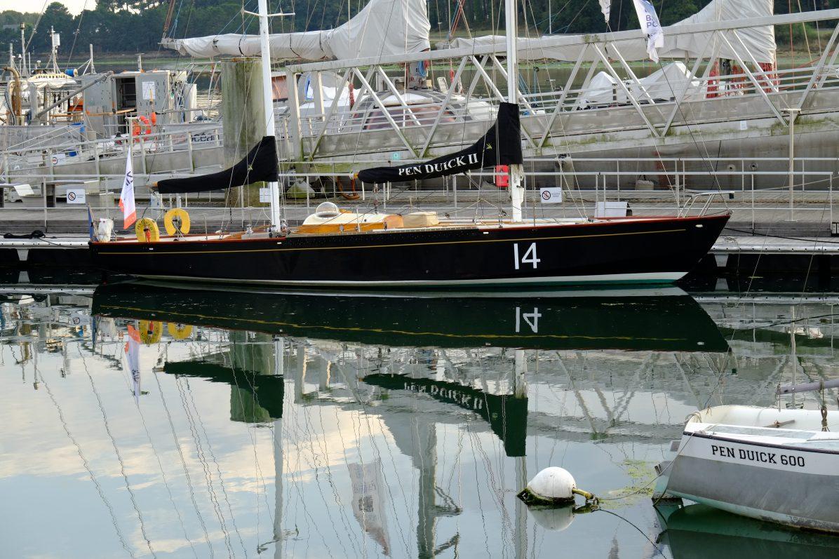 Le port d'attache de Pen Duick 2 est à Lorient