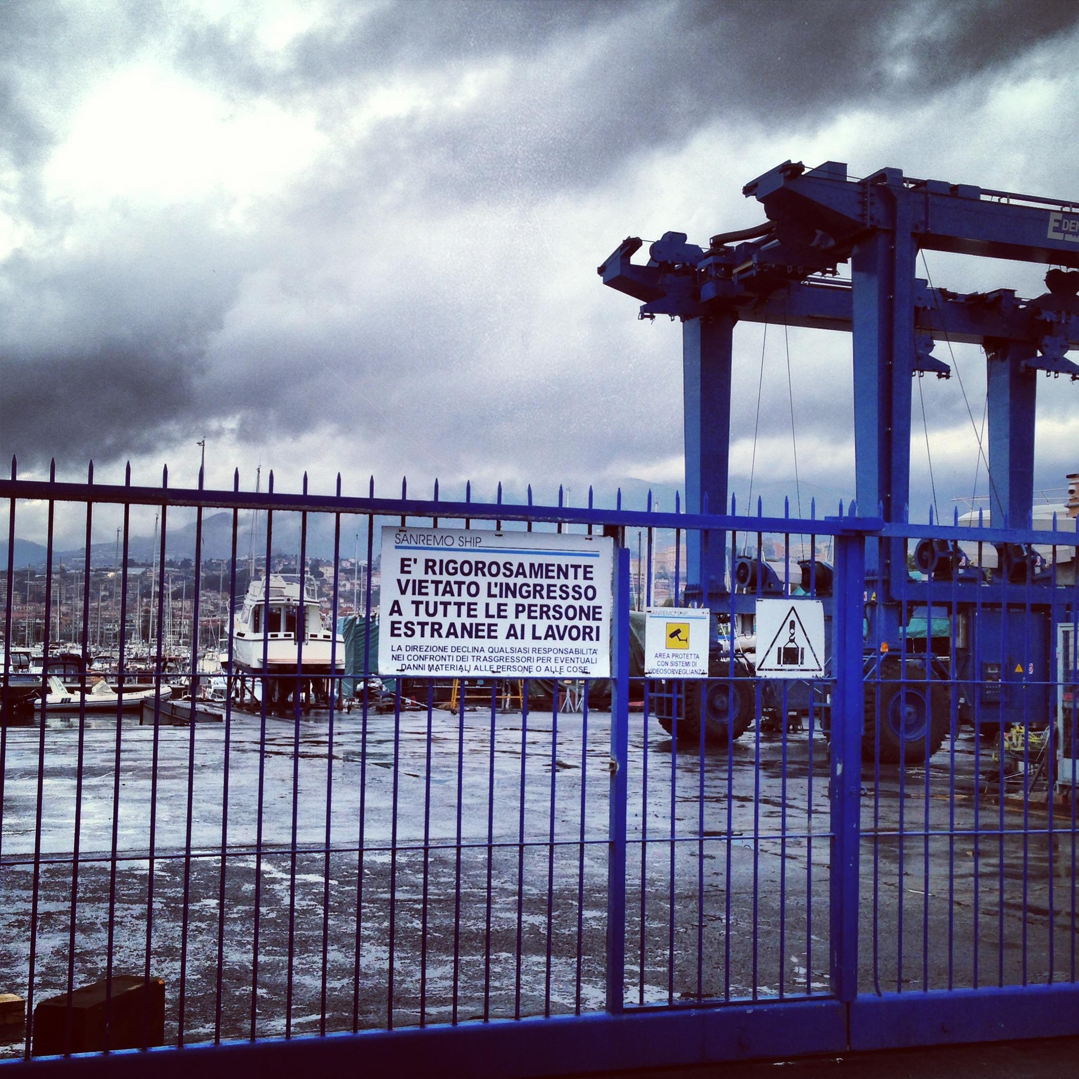 chantier naval Amer Yachts Portosole Sanremo