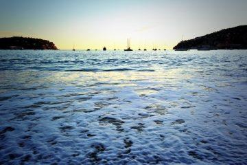 fin de journée sur Villefranche sur Mer