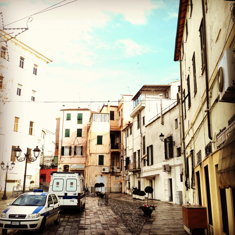 Le centre ville de Sanremo