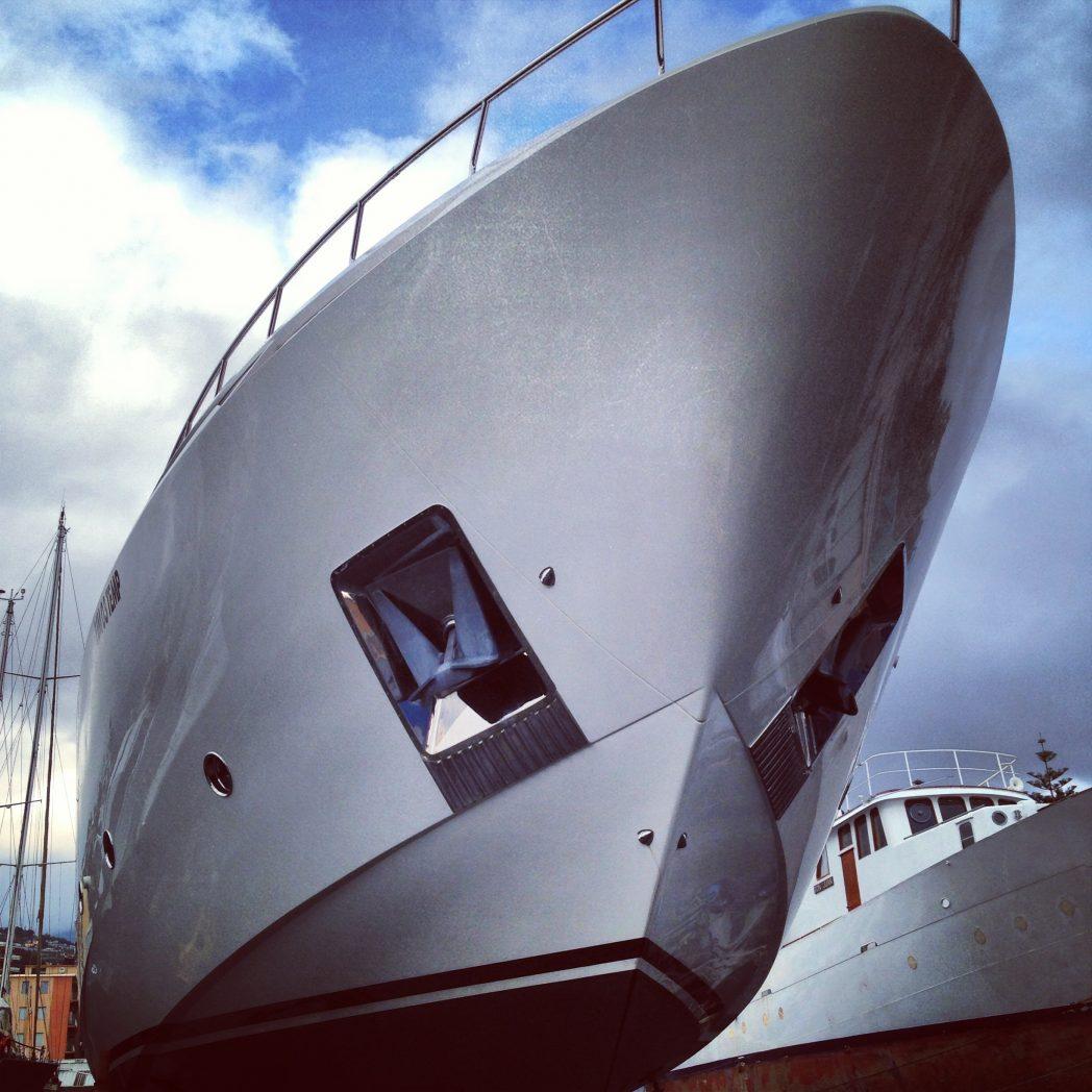 Le chantier Permare présente son super yacht de 100 pieds l'Amer Cento