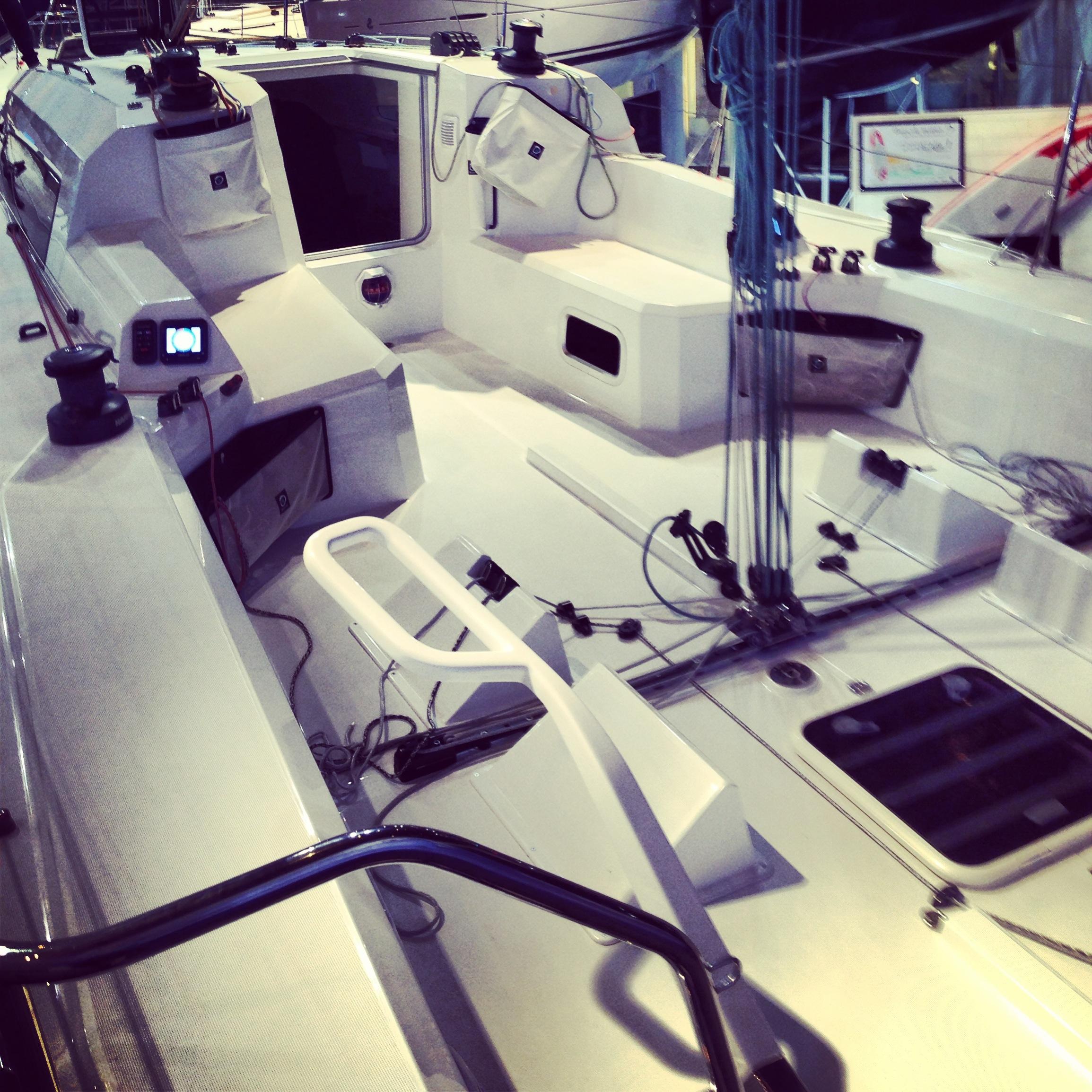 Le cockpit du voilier Jeanneau sun fast 3600
