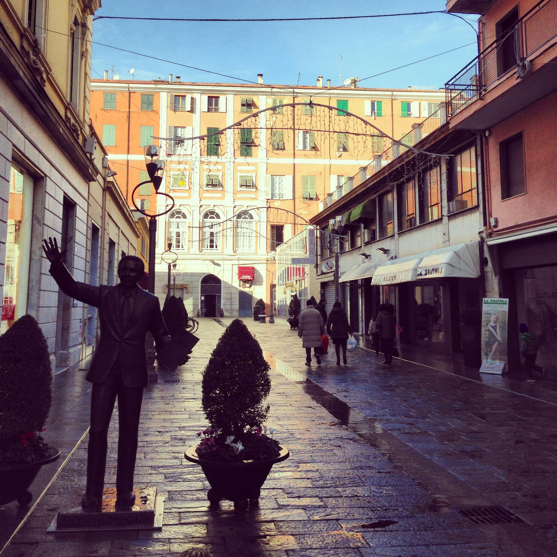 Sanremo un centre ville pietonnier