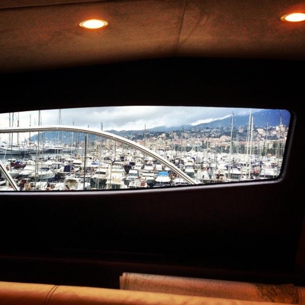 Splendide vue sur le port de Sanremo en Italie