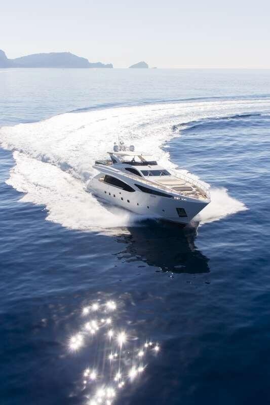 Navigation de rêve sur un yacht italien