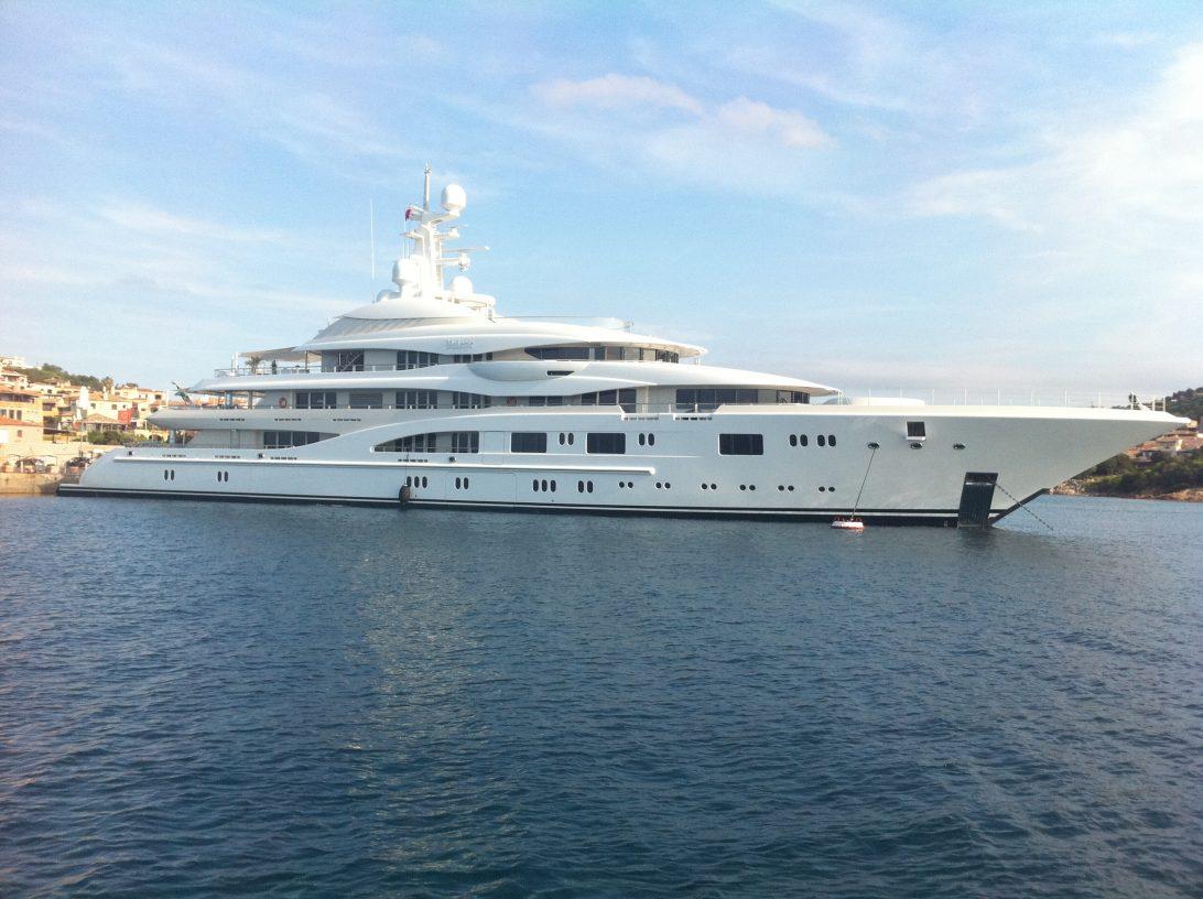 les plus grands yachts du monde