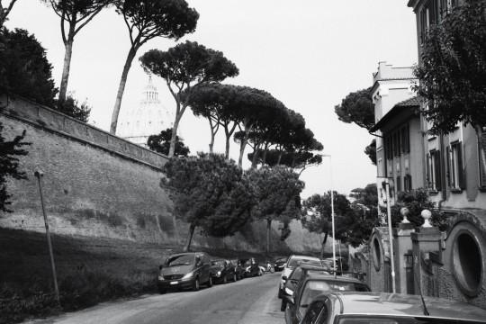 La forteresse du Vatican