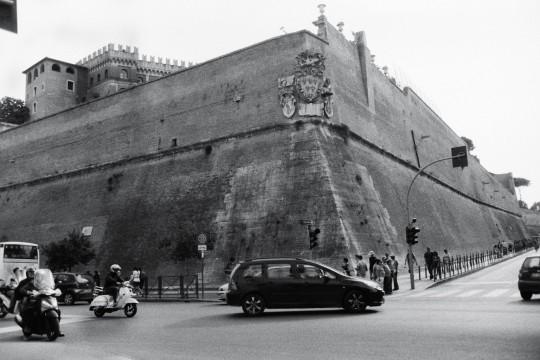 Les fortifications de l'Etat du Vaican
