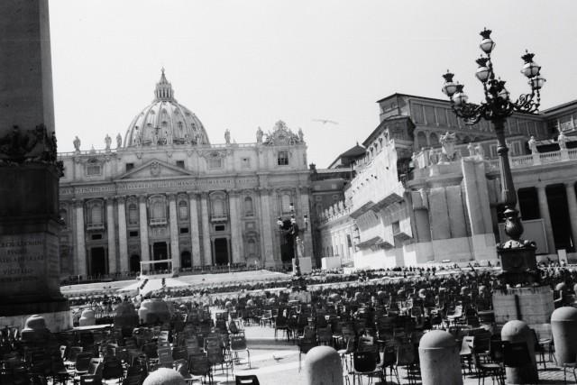 La place du Vatican