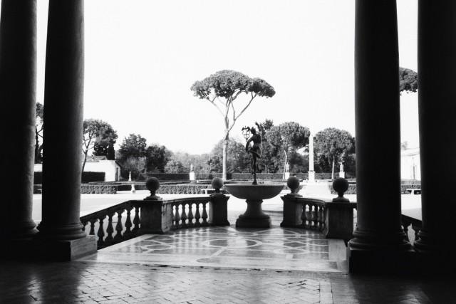 Les jardins de la Villa de Medicis