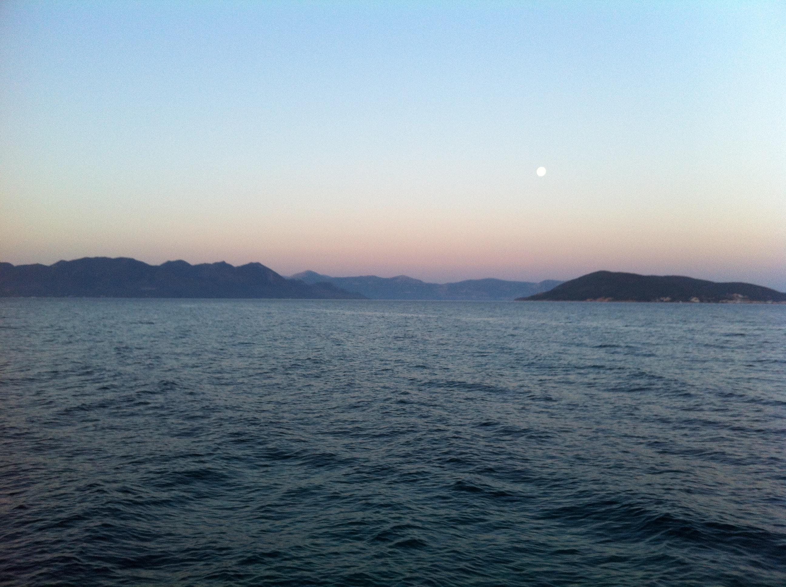Voyage en Mer et à l'autre bout de la terre avec escale de nuit