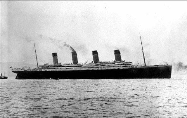 L'une des dernières photos du Titanic