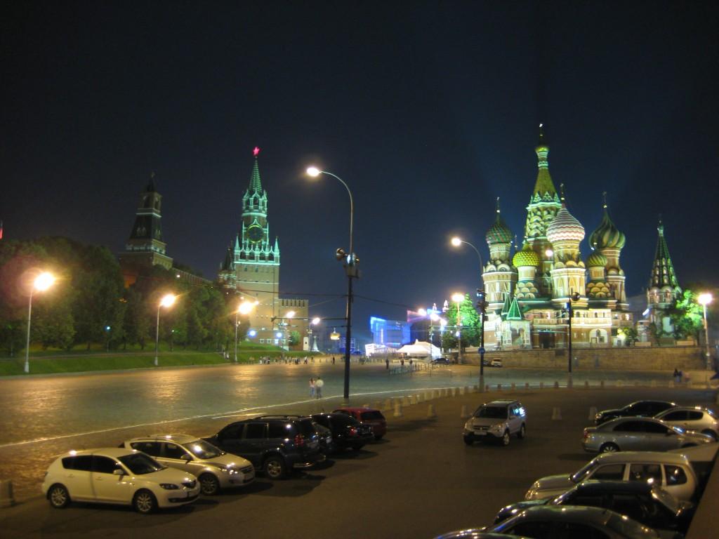 Moscou la Nuit