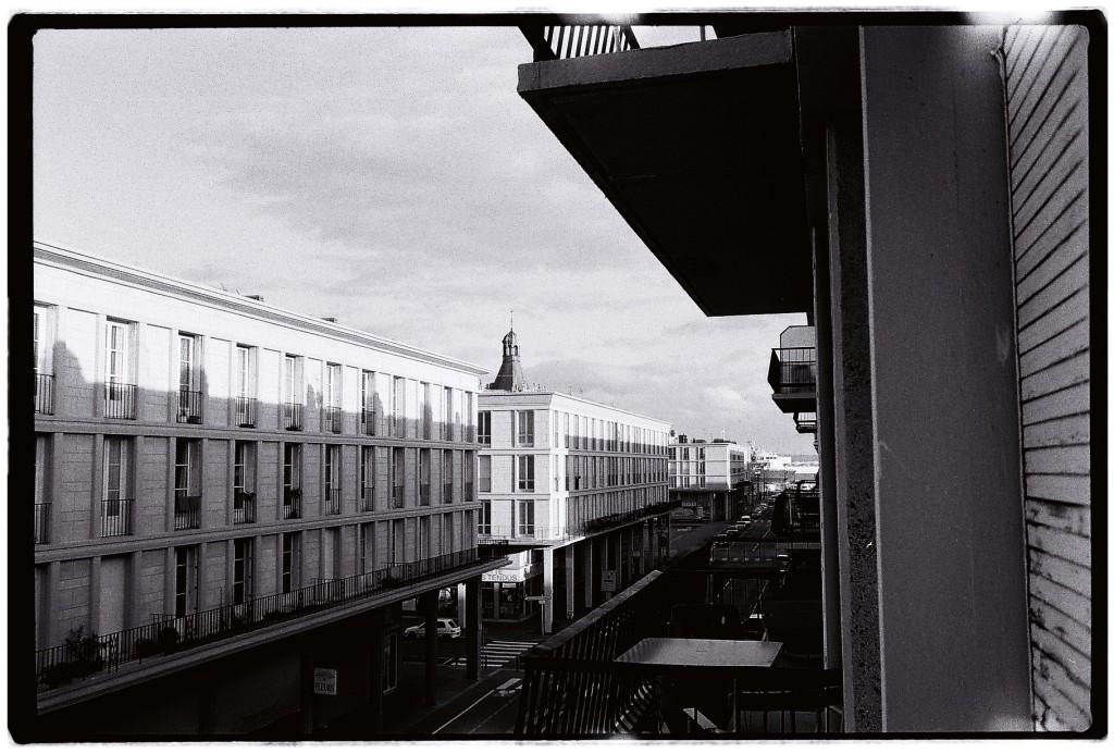 Quartier du port au Havre