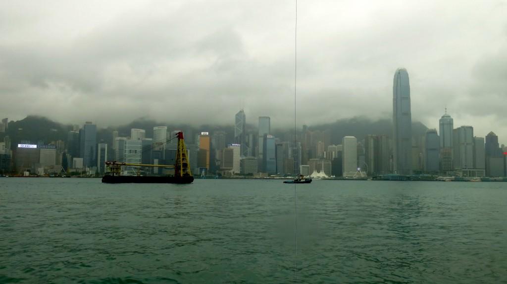 Hong Kong dans la brume