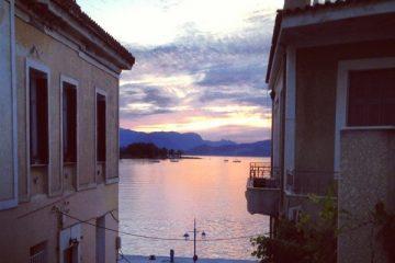 Poros une île grecque