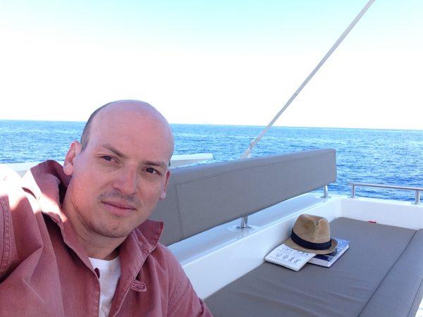 Lagoon 450, en mer Egée