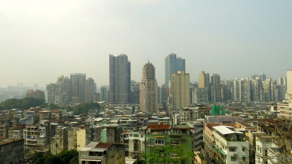 Vue sur Macao, crédits photos Bruno Lu