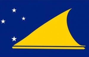 Le drapeau de Tokelau, l'un des plus petits pays du monde
