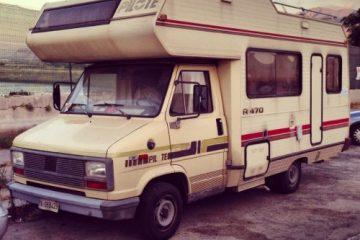camping car moche et kitsch