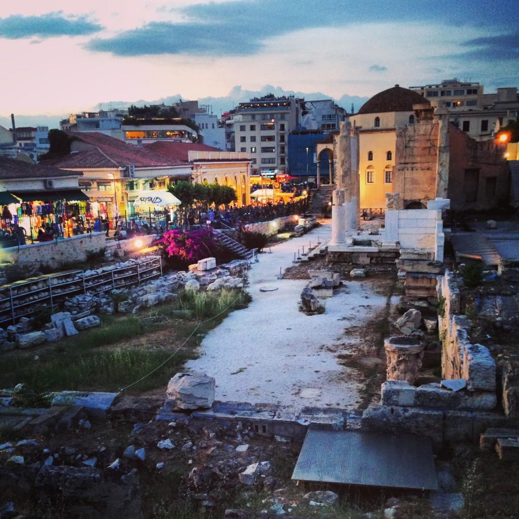 Des ruines datant de l'Antiquité