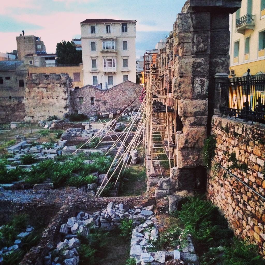 Une ambiance particulière règne à Athènes