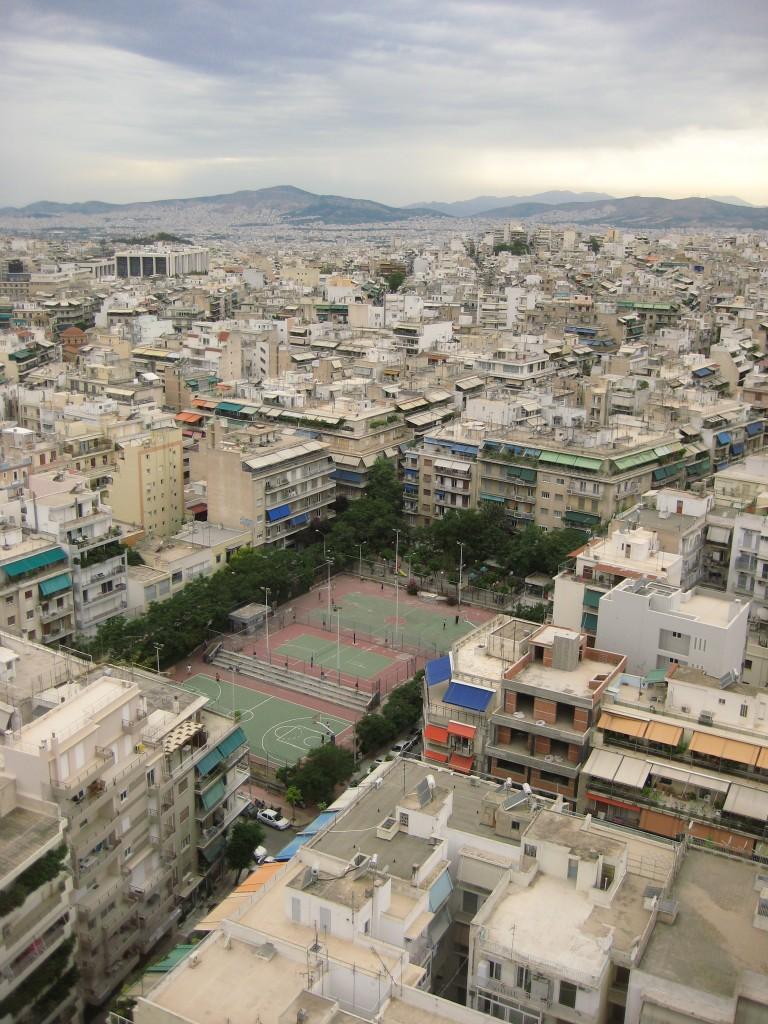 87. Athènes vue d'en haut
