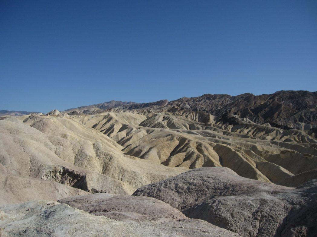 La vallée de la mort, le grand bassin, le désert de l'Ouest américain