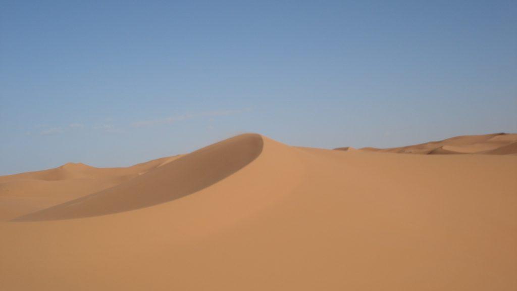 Le désert du Sahara l'un des plus grands et des plus beaux déserts du monde