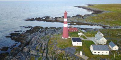 71,1 degrés Nord, c'est le phare le plus septentrional