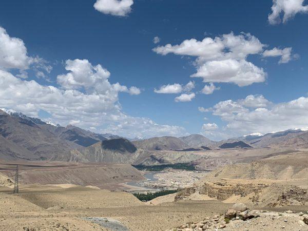 Les splendides paysages du nord en Inde
