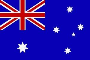 Le drapeau de l'Australie