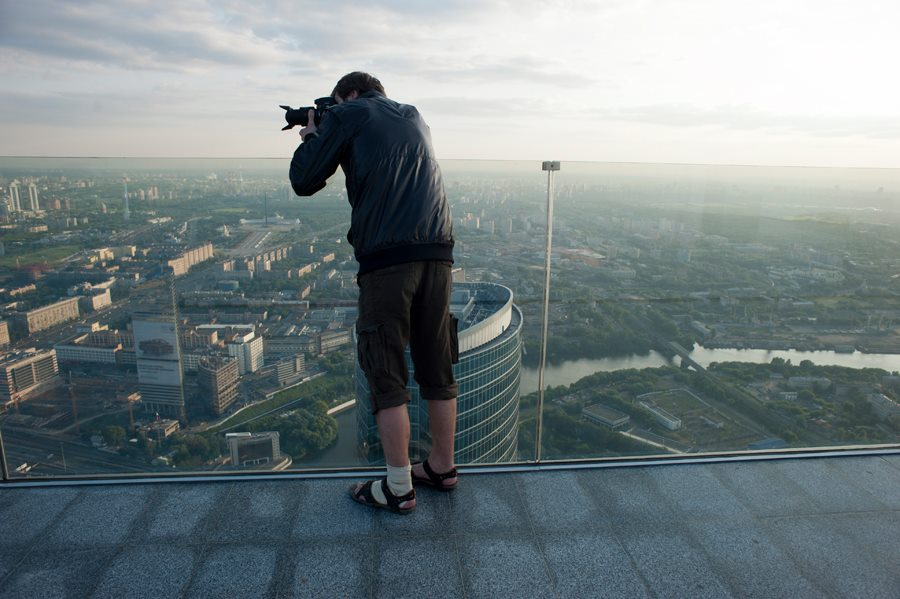 Moscou, un photographe Moscow City