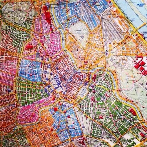 Le plan de la ville de Vienne