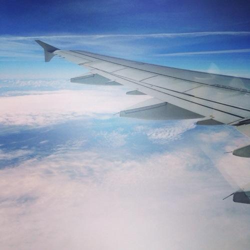 Photo prises en avion