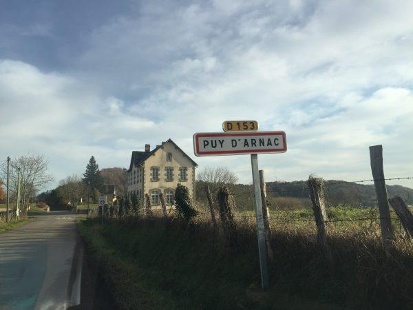 Le charmant village de Puy d'Arnac offre une belle vu sur toute la Corrèze