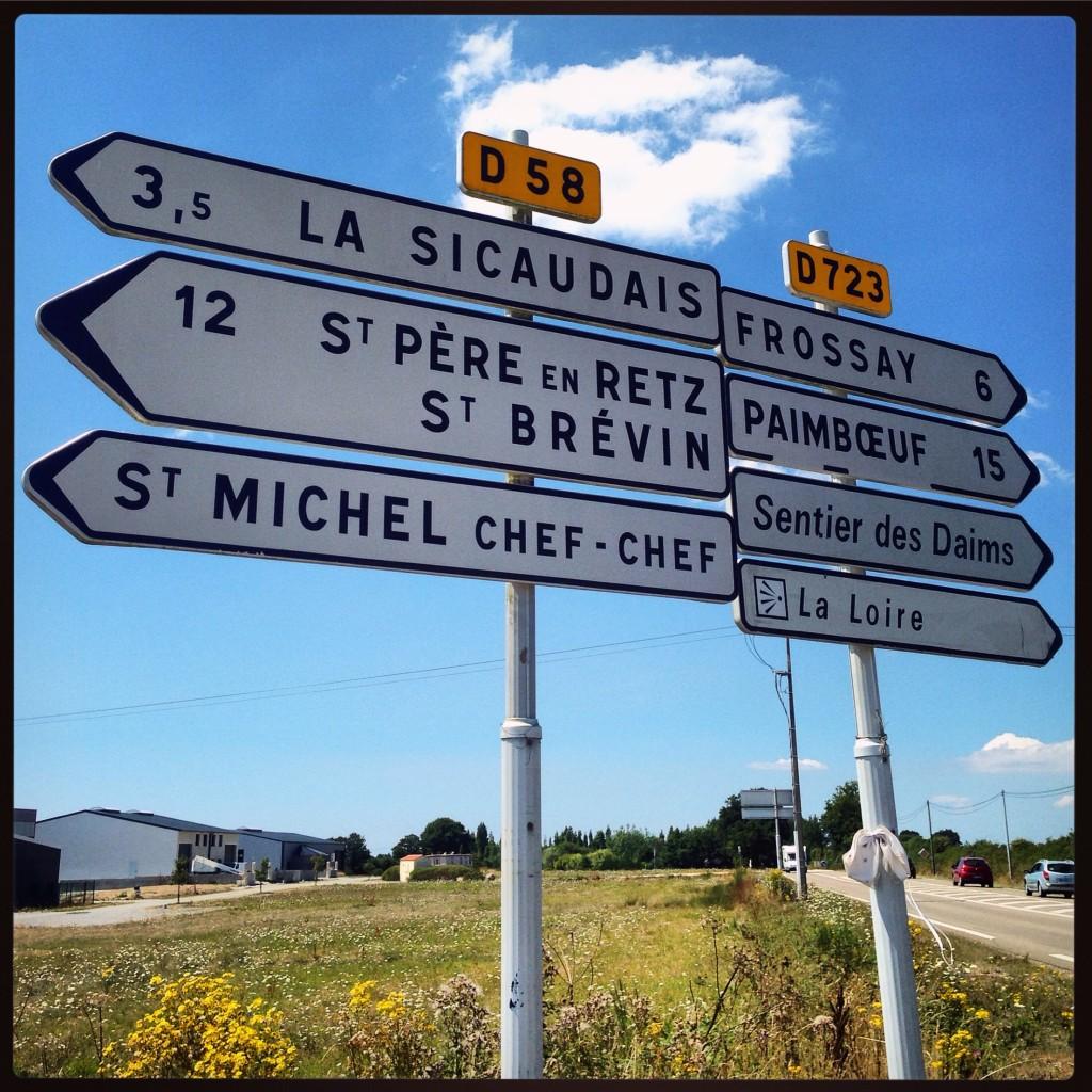 Paimboeuf et Saint-Michel Chef Chef, deux noms de villes étranges.