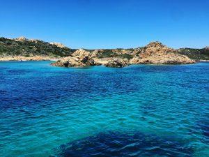 Île Razzoli dans le nord de la Sardaigne