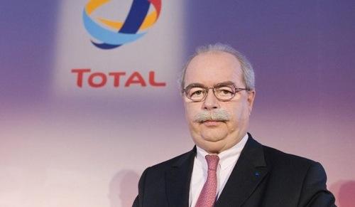 Le PDG de Total - Christophe de Margerie