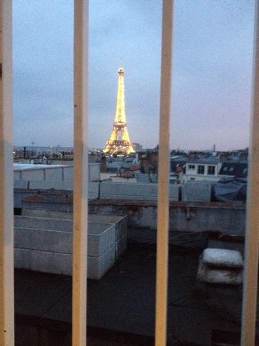 La Tour Eiffel à Paris, symbôle du pays le plus visité du monde