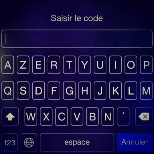 La fonction mot de passe complexe sur iphone