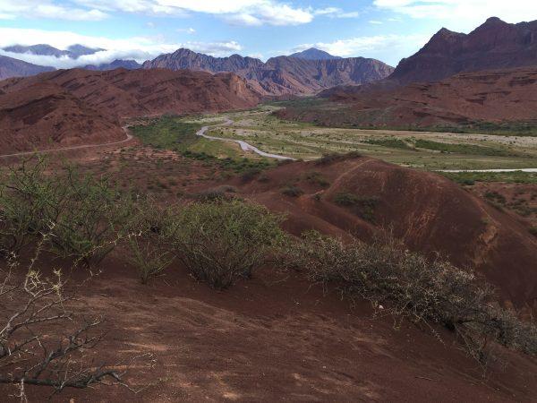 Un splendide paysage dans la région de Cafayate dans le nord de l'Argentine