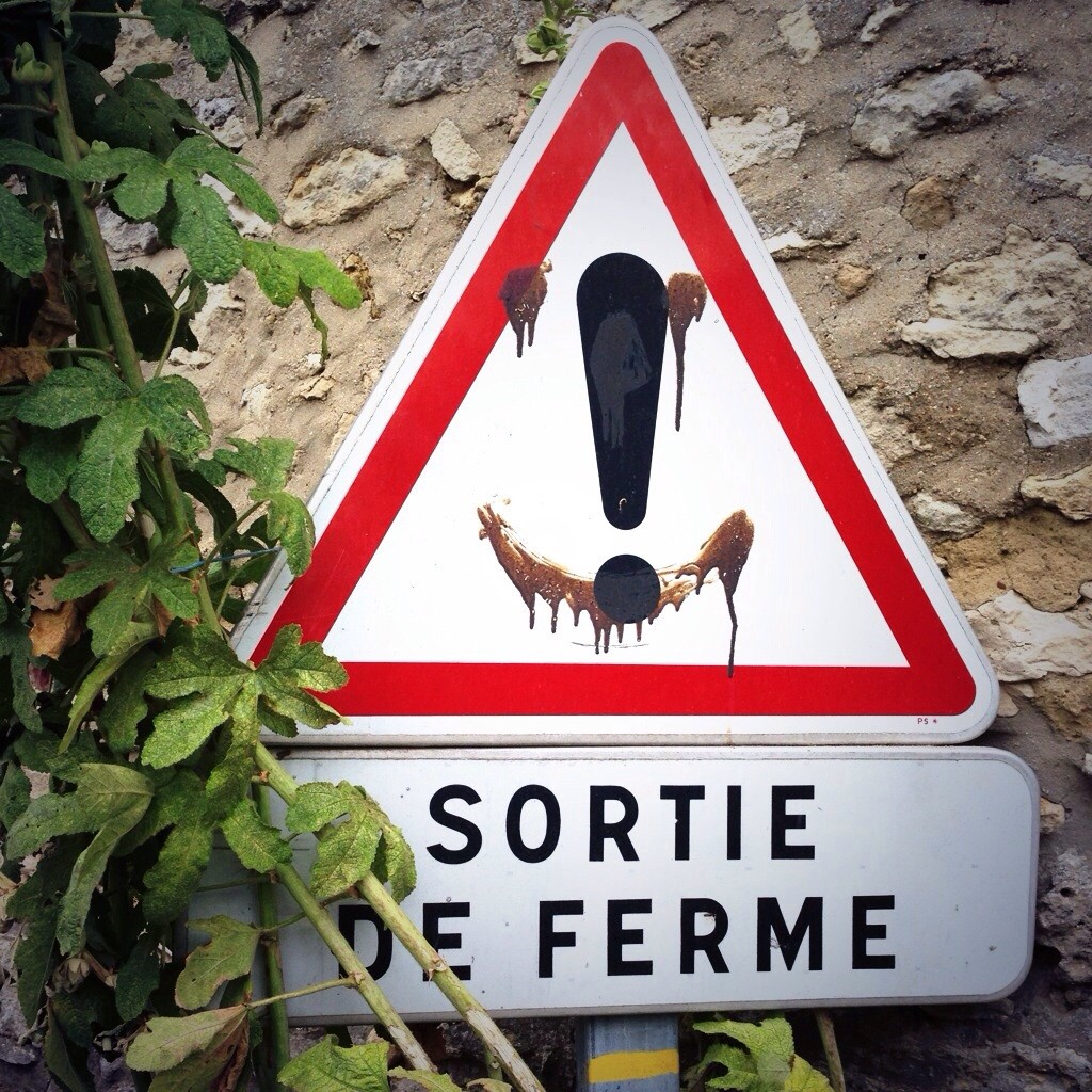 Attention sortie de ferme