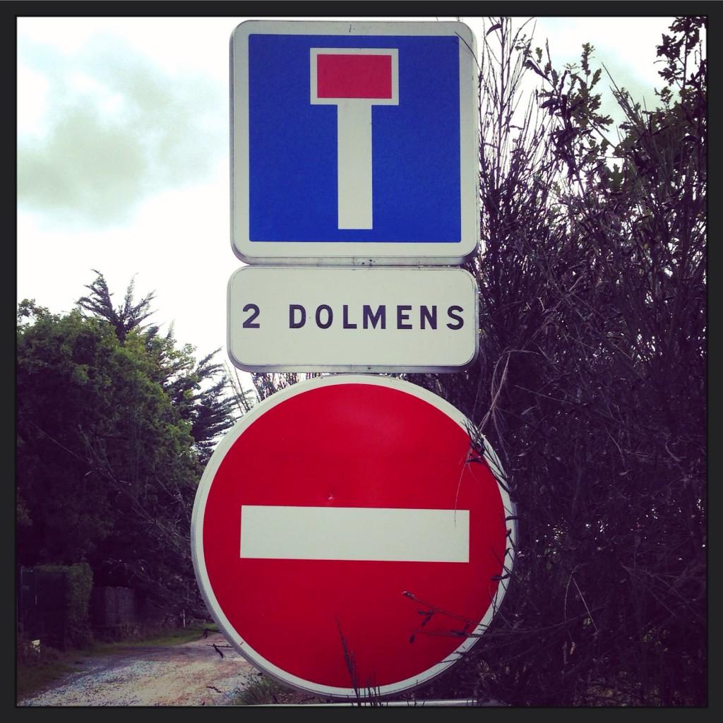 Impasse dolmen...